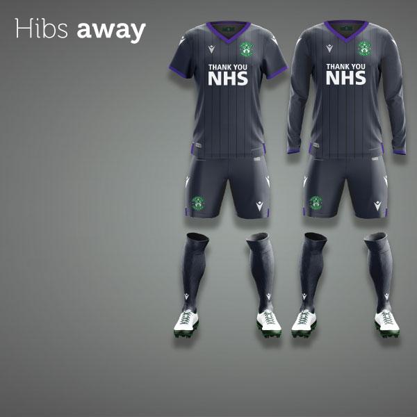 Hibernian FC 2020/21 Away Kit Pre-Order