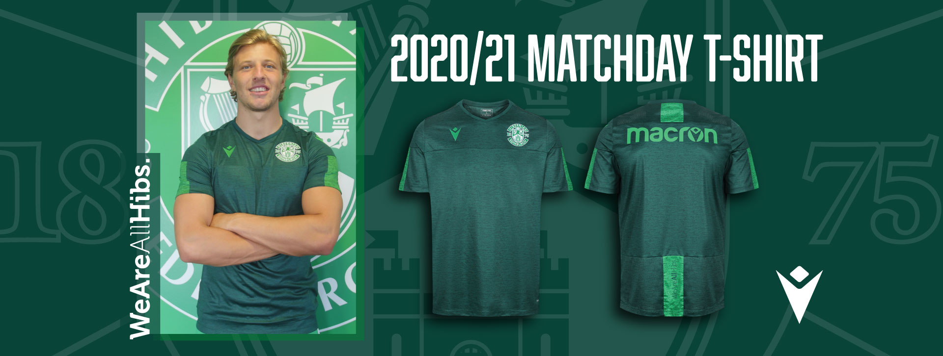 Hibernian FC 2020/21 Matchday T-Shirt